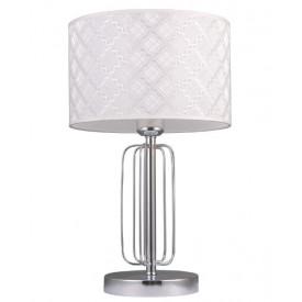 Настольная лампа 1014/1T-CR-WT АГНИС