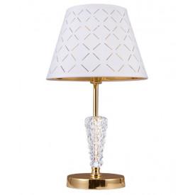 Настольная лампа 1016/1T-GD-WT ЭЛИСОН